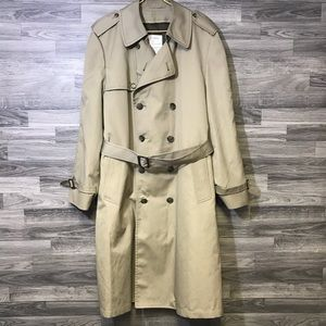 London Fog Brown Trench Coat